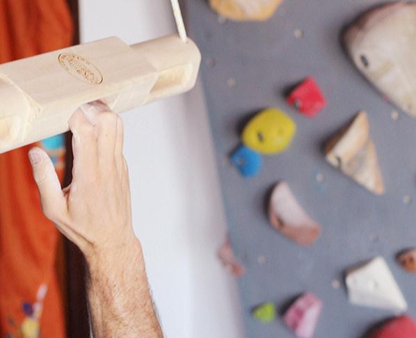 Sviluppare la forza nelle dita in arrampicata