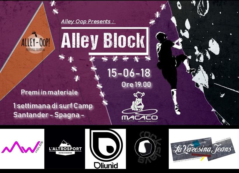 Alley Block oggi a Piacenza - Eventi di arrampicata