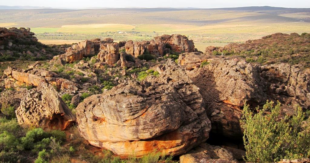 Oliunìd is bloc: boulder a Rocklands