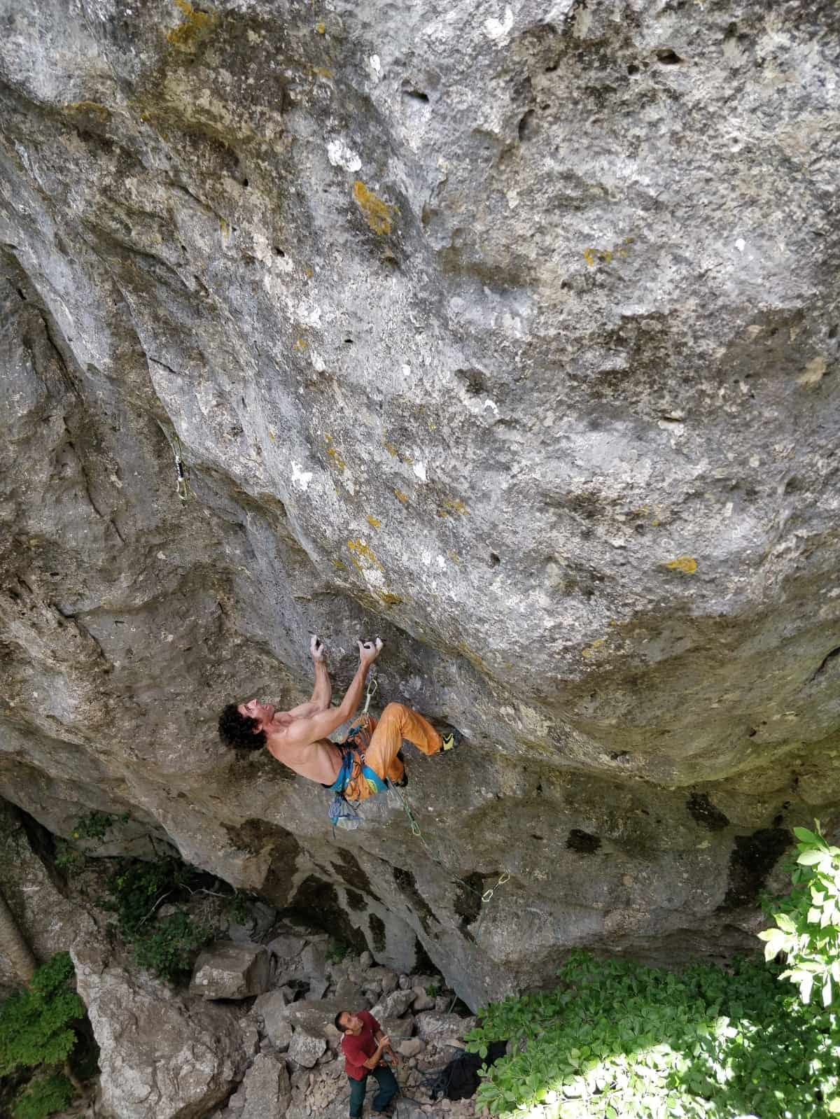 Mauro Calibani arrampicata sportiva