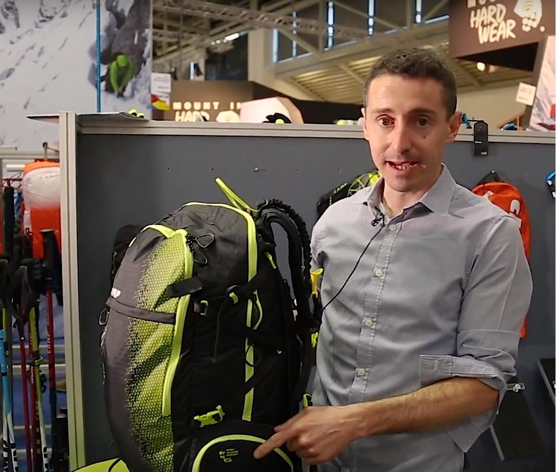 Oliunìd @ ISPO 2018 - Ep. 2b: CAMP Ski Raptor, zaino da scialpinismo e freeride