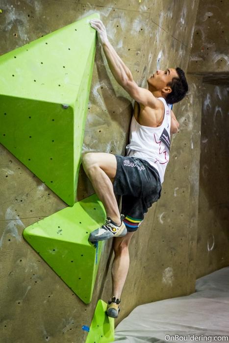 Sean McColl volumi arrampicata boulder