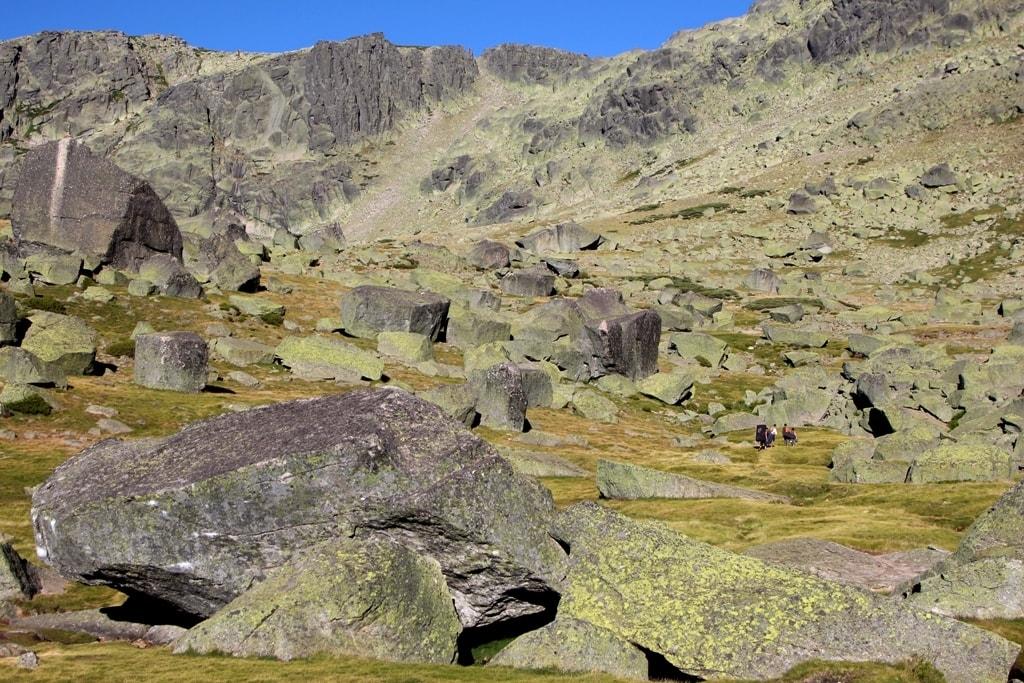 Fare boulder a Hoya Moros