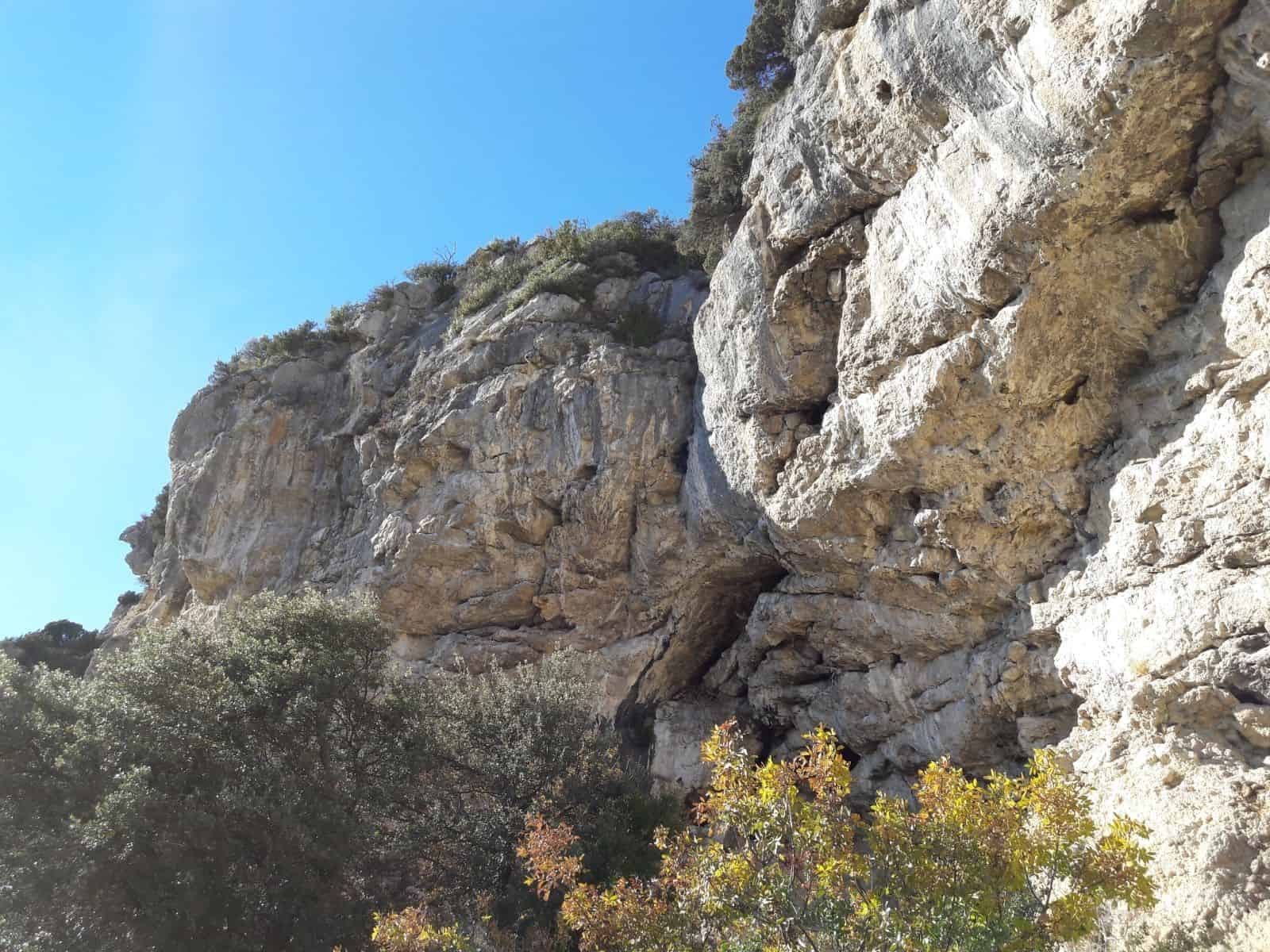 Arrampicare a Volx - Oliunìd is crag