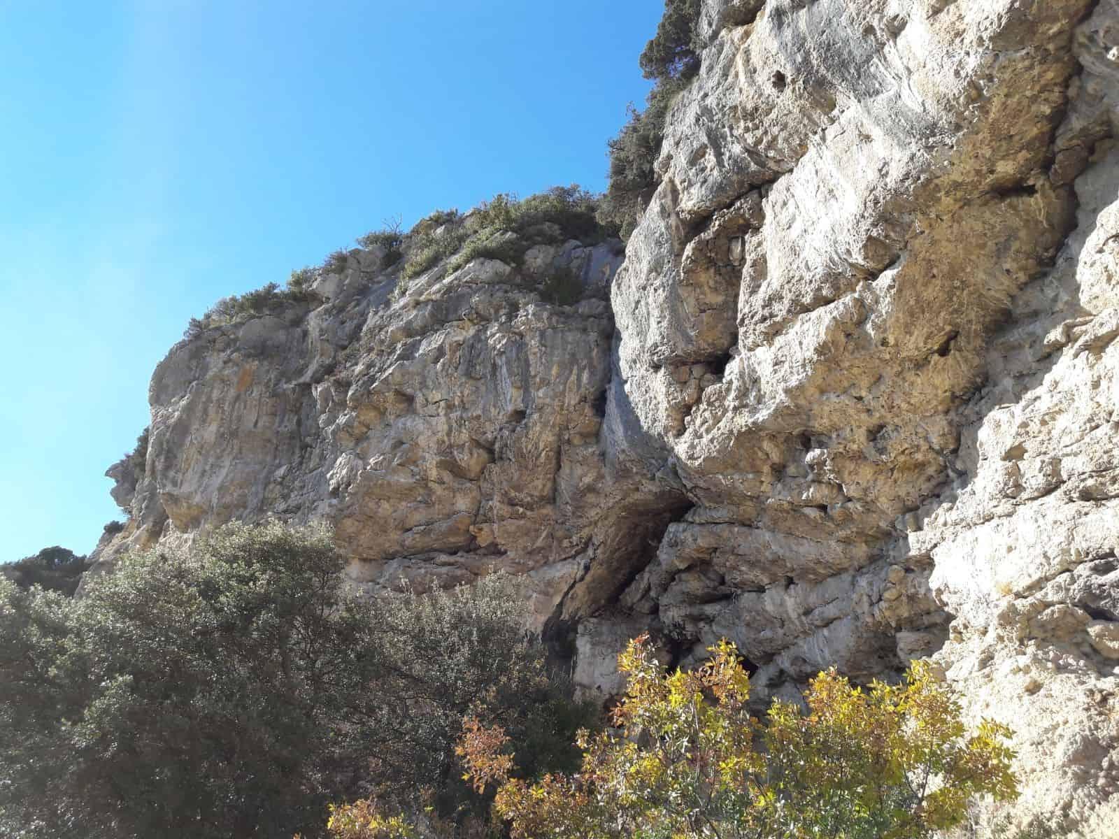 Arrampicare a Volx - Oliunìd is crag