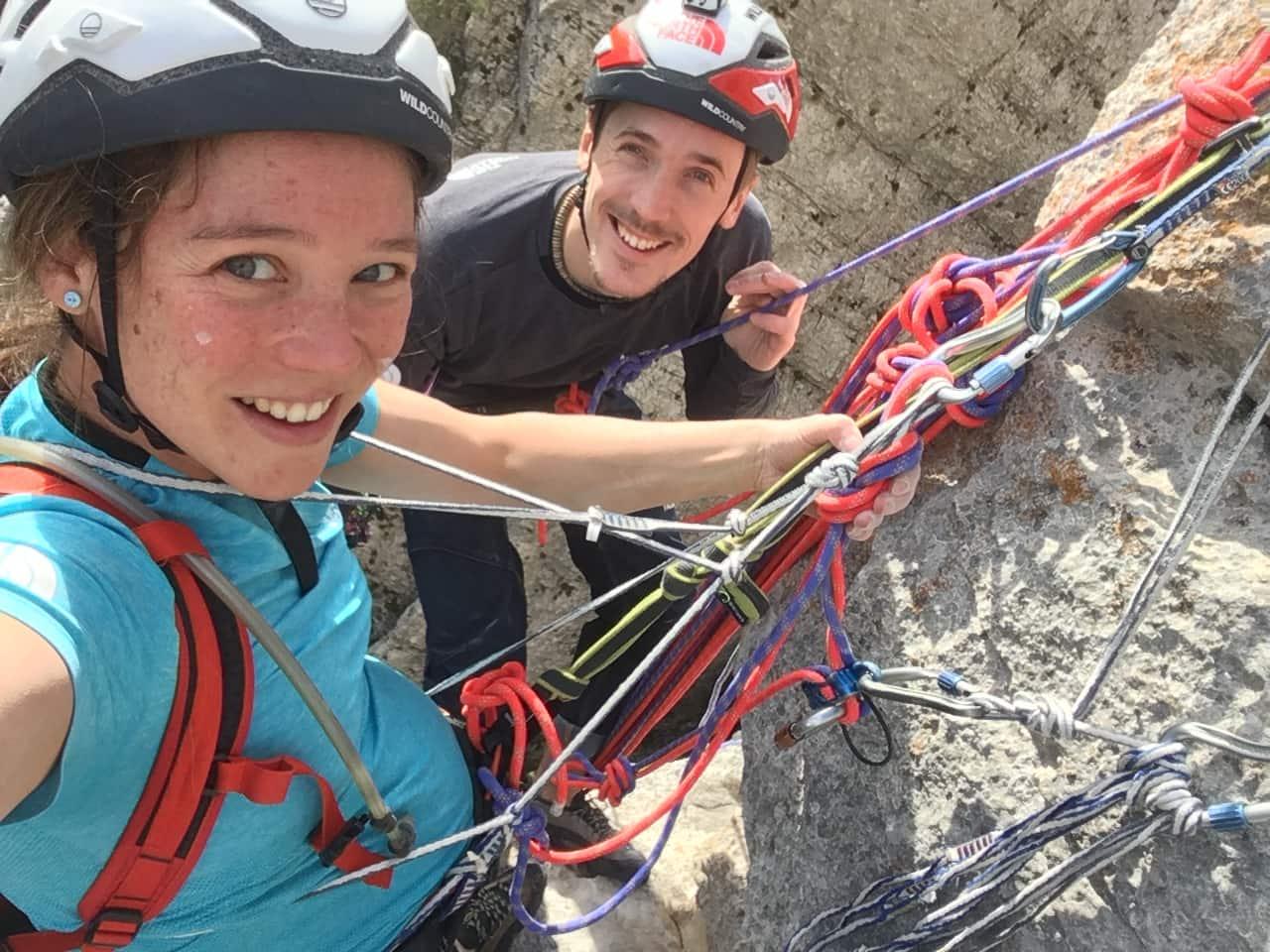 Essere genitori e arrampicatori: James Pearson e Caroline Ciavaldini si raccontano!