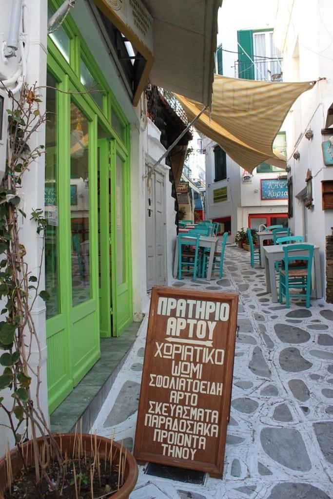 Tinos Grecia arrampicata boulder