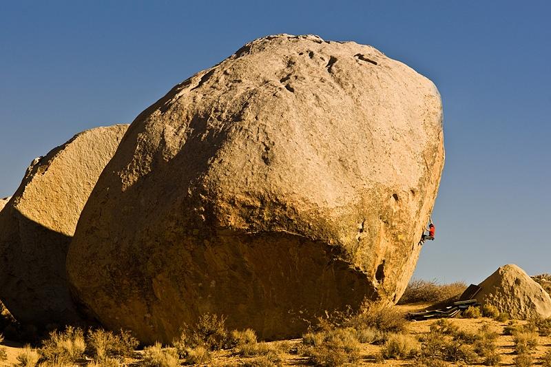 Kevin Jorgeson highball arrampicata boulder