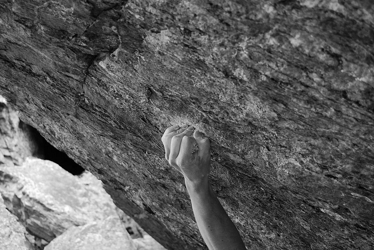 Arcuata presa arrampicata