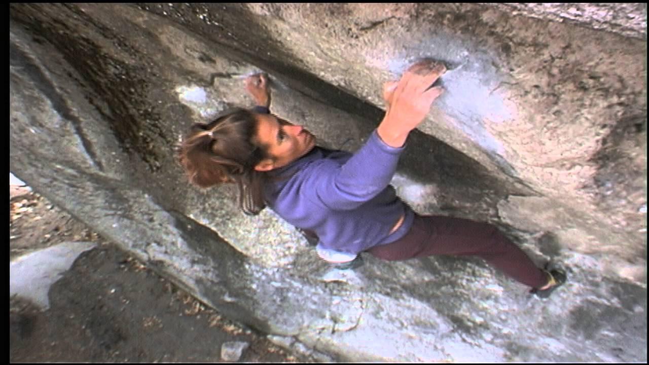 Lynn Hill nella prima femminile di Midnight Lightning