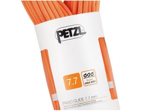Recensione prodotto: Petzl Paso Guide 7.7 mm mezza corda arrampicata e alpinismo