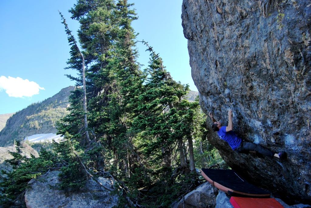 RMNP Rocky Mountains Boulder arrampicata