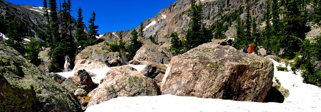 RMNP Rocky Mountains Boulder arrampicata Lower Chaos