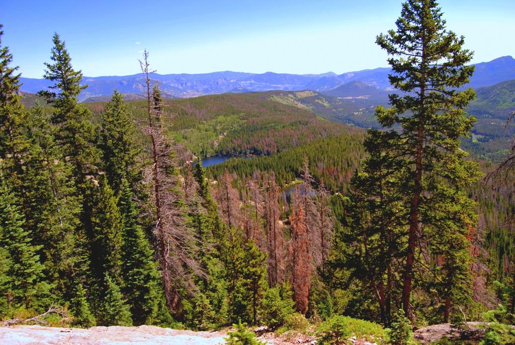 RMNP Rocky Mountains Boulder arrampicata avvicinamento