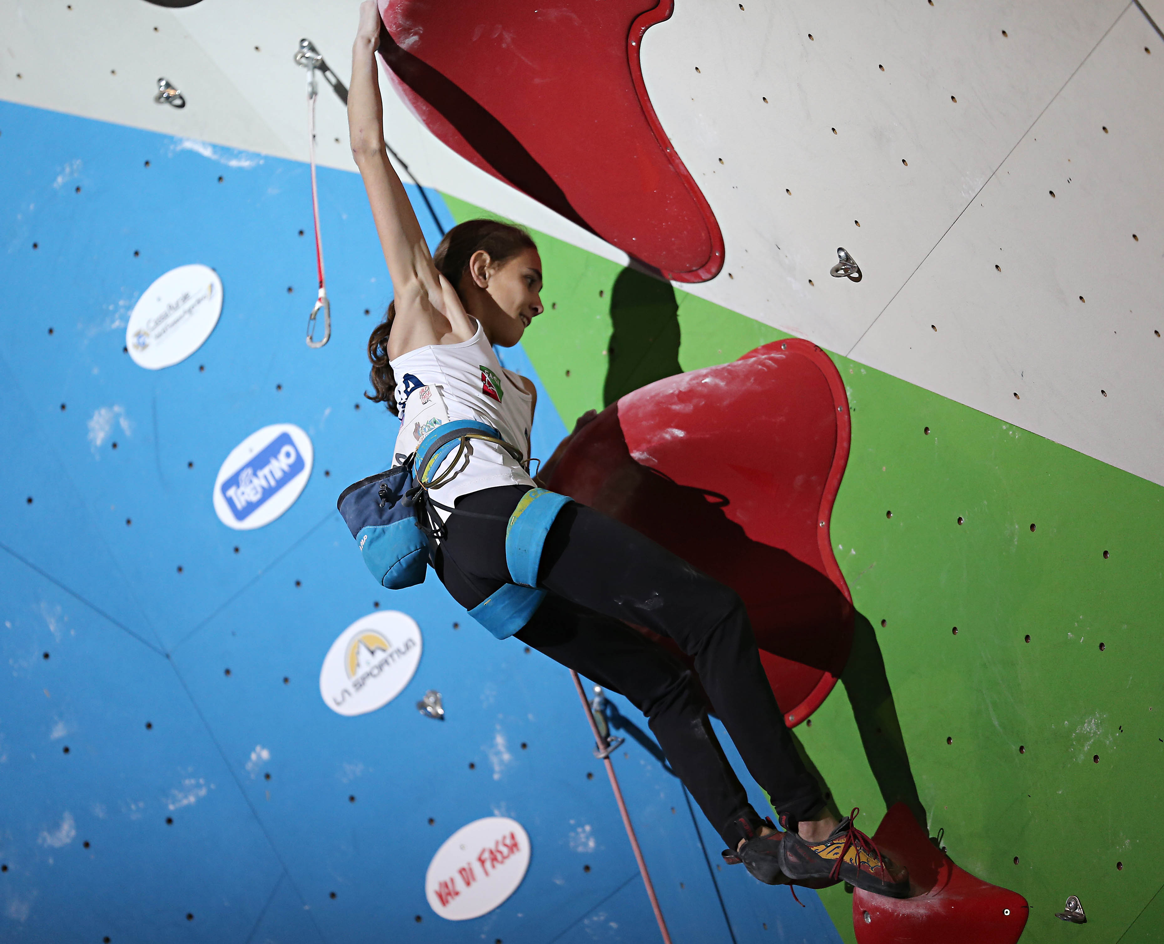 Novelle di arrampicata: campionato europeo lead a Campitello di Fassa