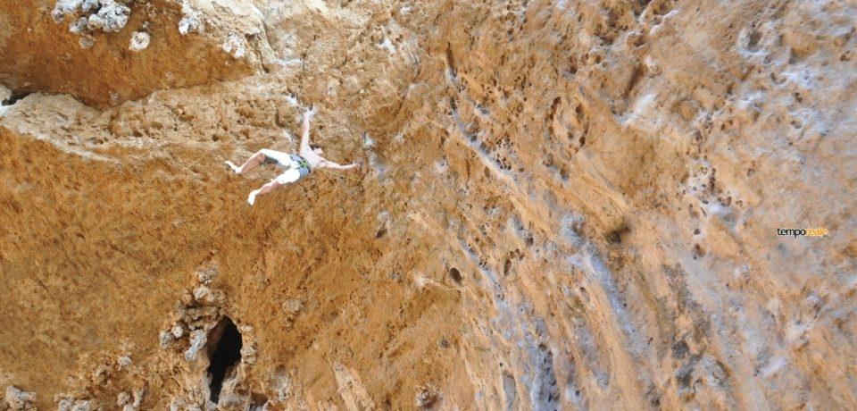 Adam Ondra Sperlonga arrampicata
