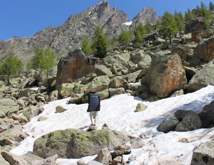Cosa significa fare boulder alpino