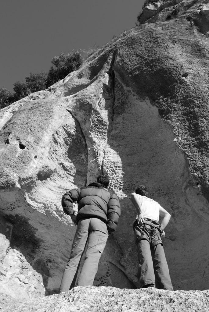 Settore Alveare falesia arrampicata