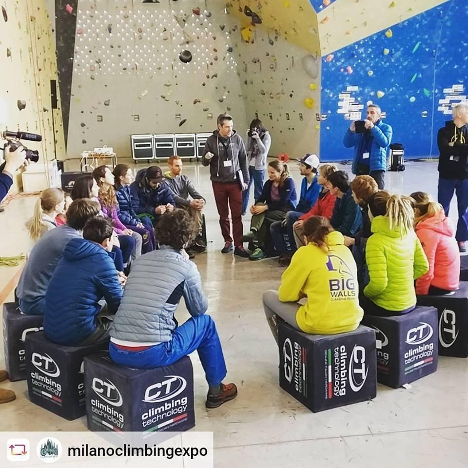 Big e spettacolo al Milano Climbing Expo - Novelle d'arrampicata