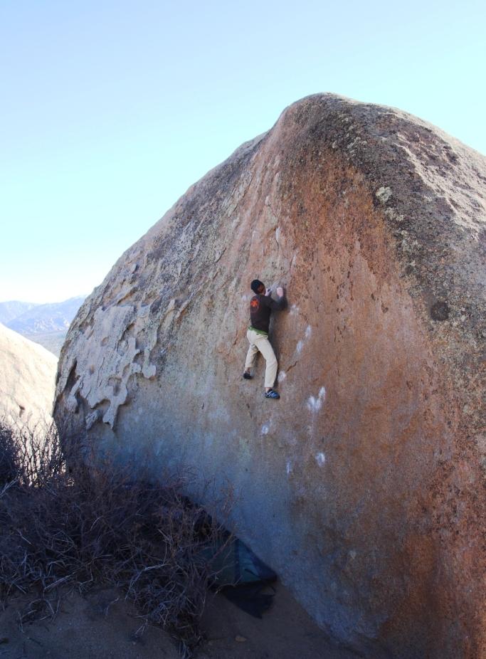 Come affrontare l'arrampicata di aderenza in placca