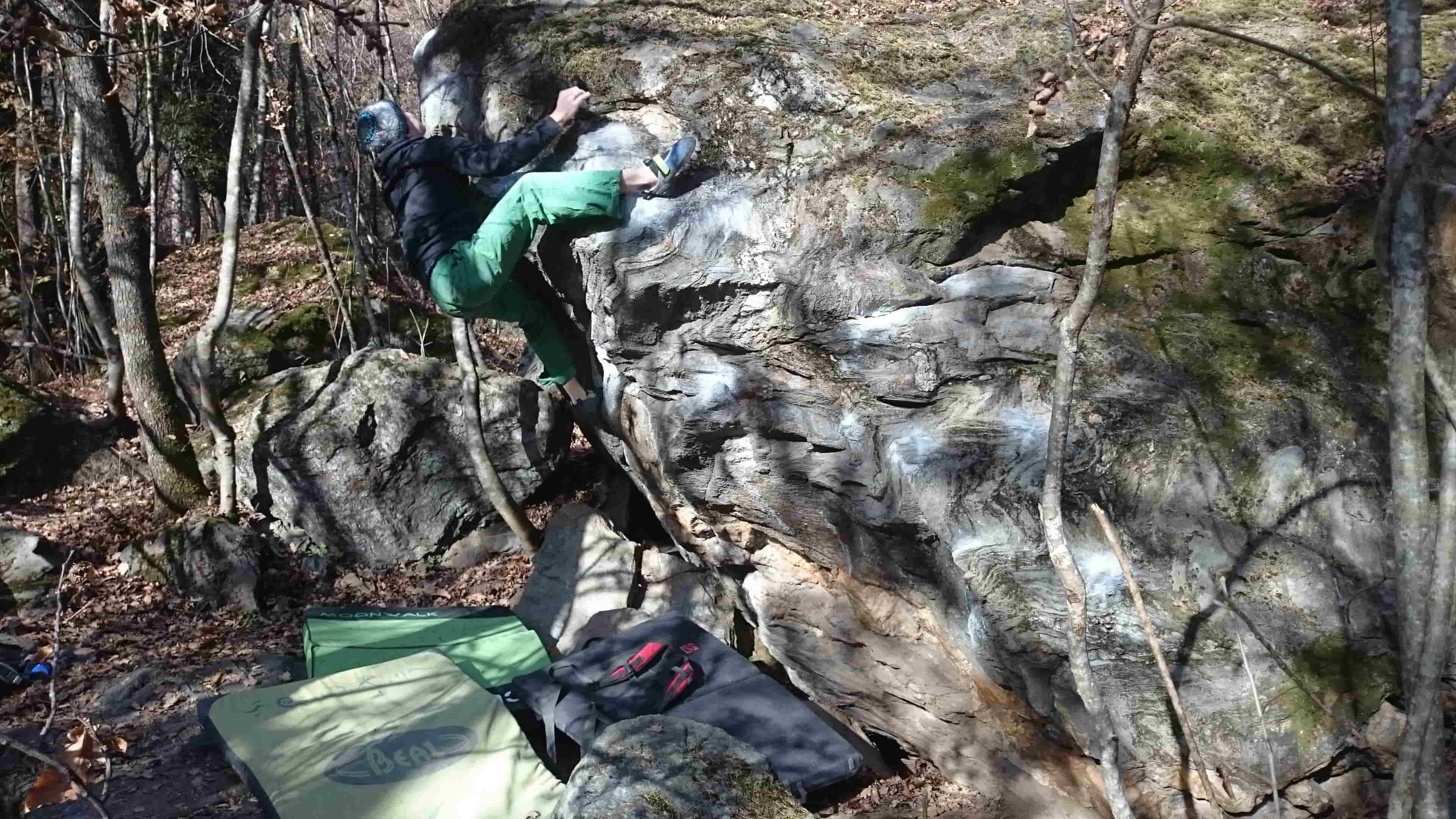 Fare boulder ad Algund