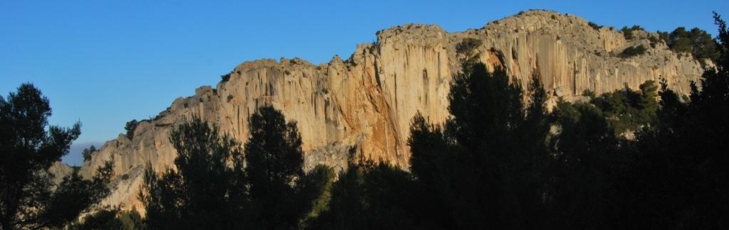 Cimai falesia arrampicata inverno