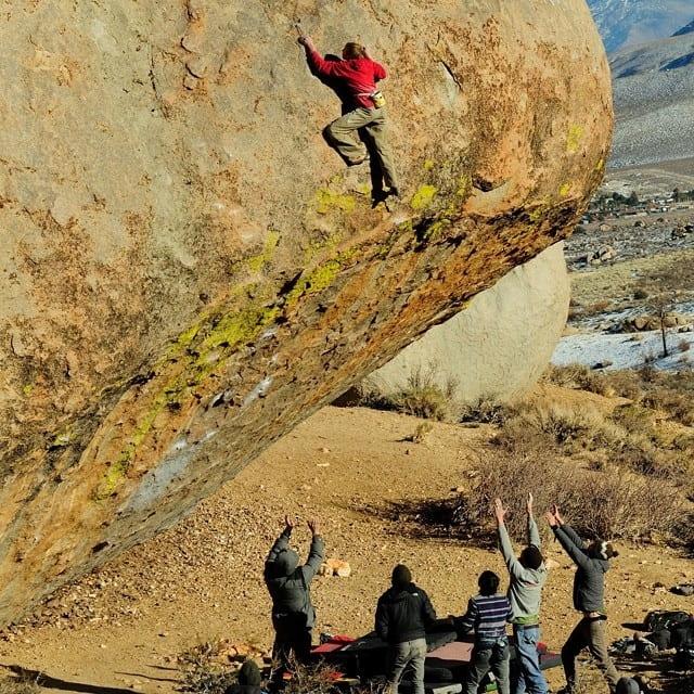 Arrampicata boulder