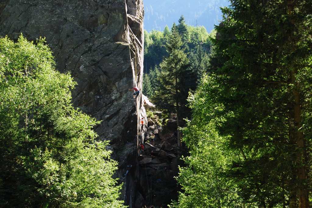 ewige Jagdgrunde (settore falesia) arrampicata zillertal