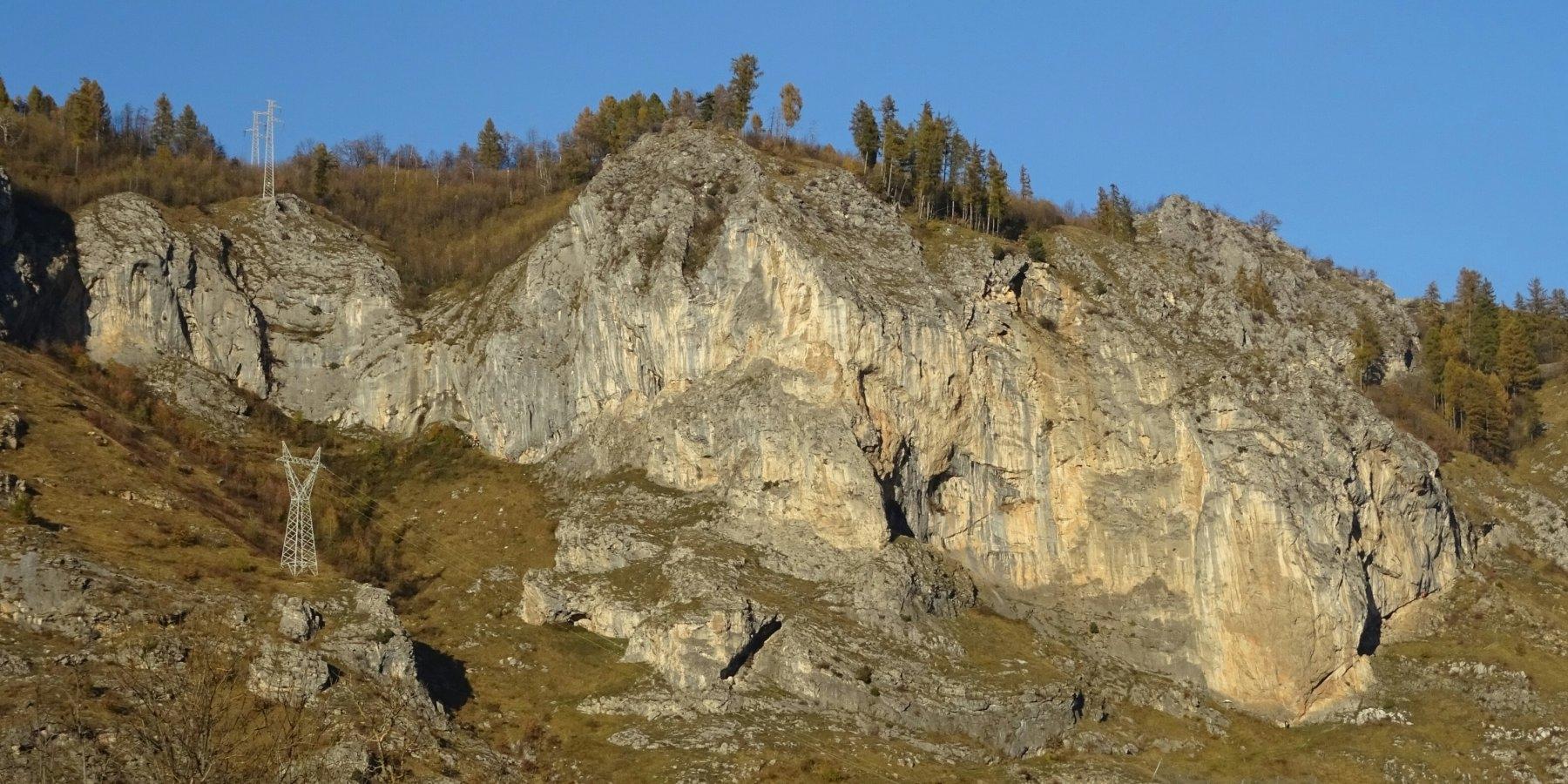 Arrampicare ad Andonno - Oliunìd is crag