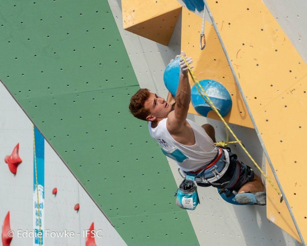 Olimpiadi Giovanili di arrampicata sportiva: quarto posto per Filip Schenk