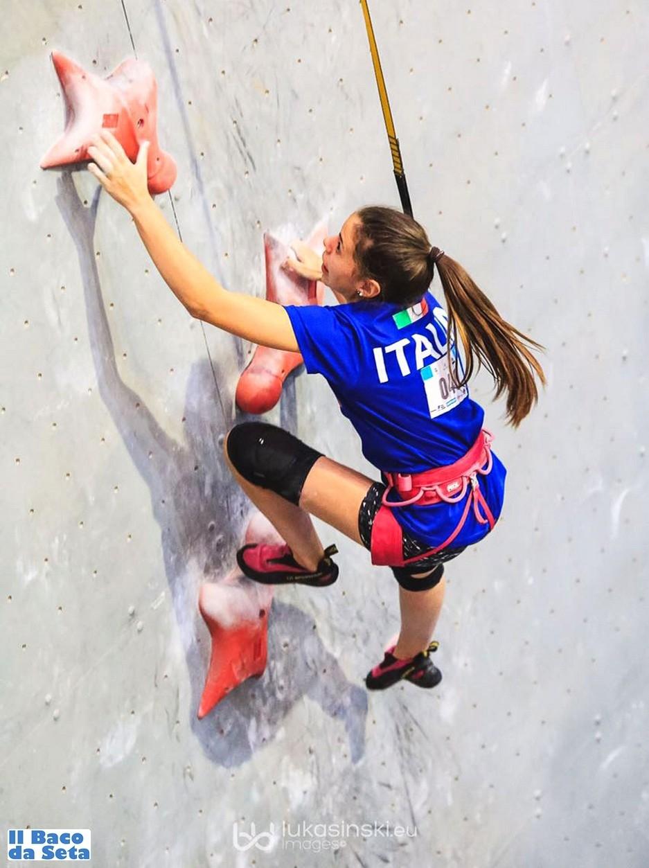 Due medaglie d'oro ai giovanili di difficoltà e velocità - Novelle d'arrampicata