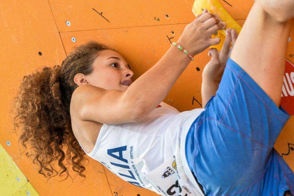 Novelle d'arrampicata: Giorgia Tesio sul podio!