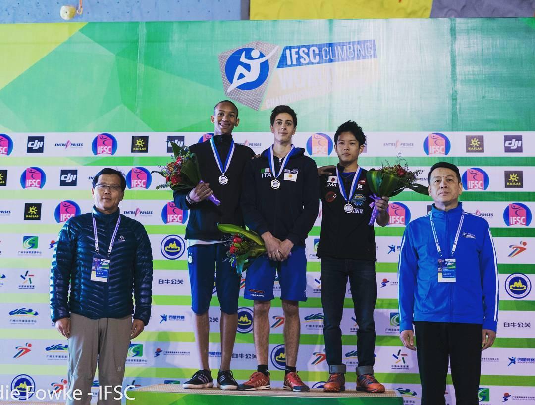 Eventi di arrampicata: Campionato del Mondo giovanile di arrampicata