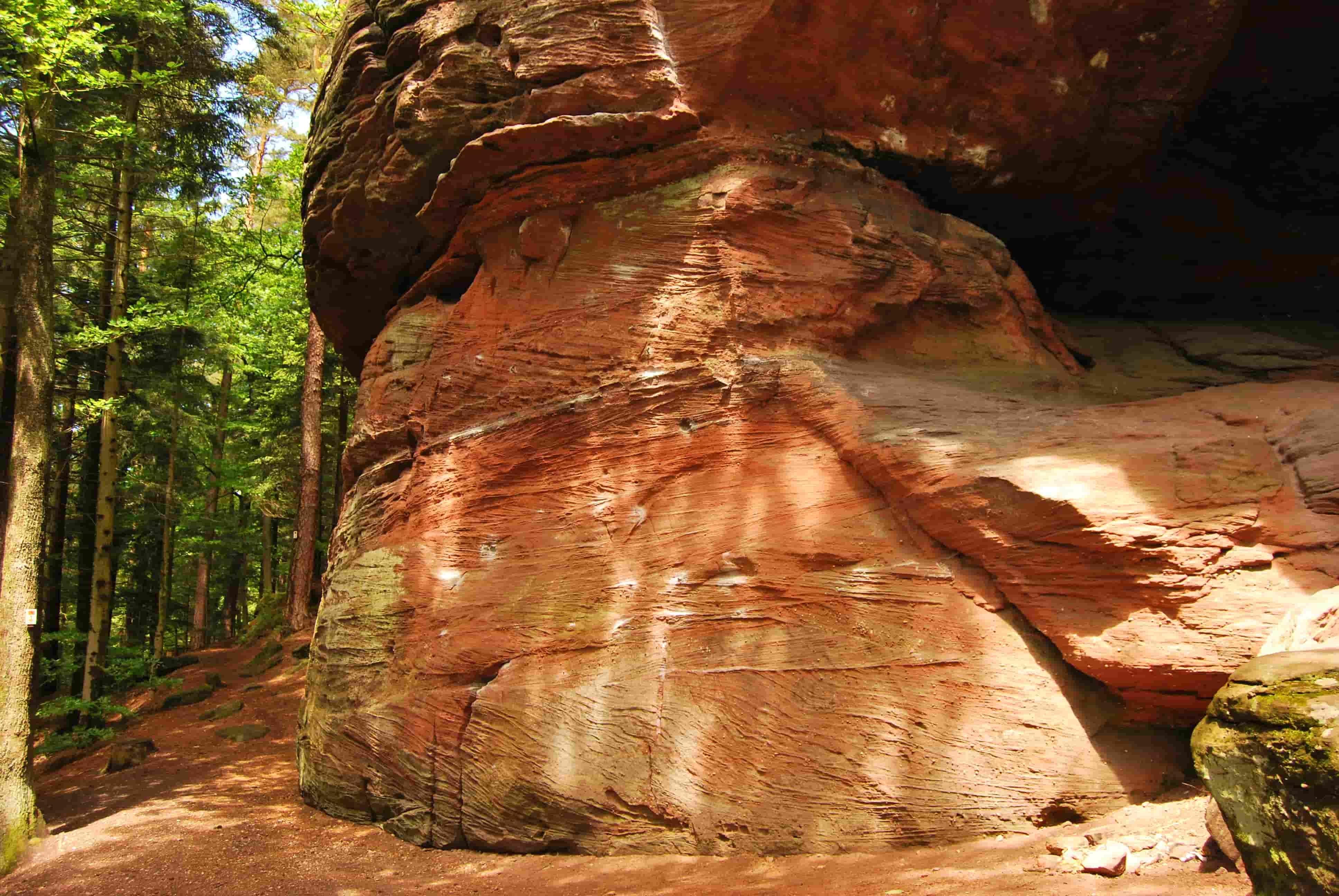 Grotte du Broche arrampicata Alsazia