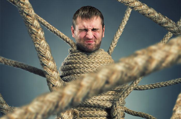 Sbobiniamo la corda da arrampicata