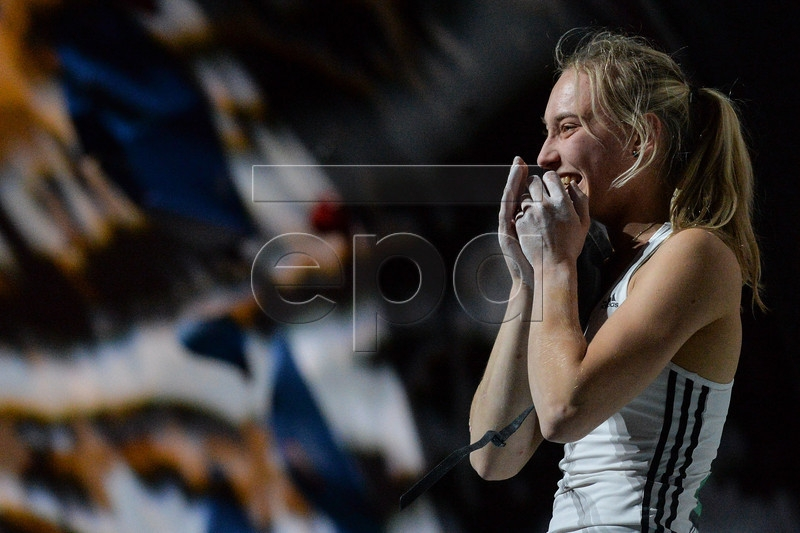 Janja Garnbret vince i Campionati mondiali di Boulder