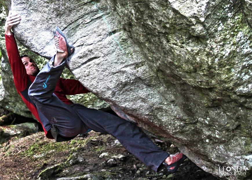 Come migliorare l'arrampicata in compressione