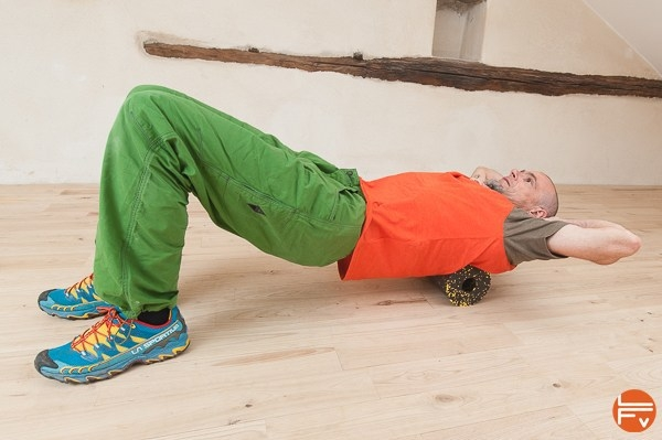 Allenamento con il Foam Roller per l'arrampicata - Oliunìd is training