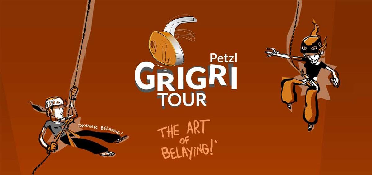 Petzl GriGri + tour europa assicuratore arrampicata