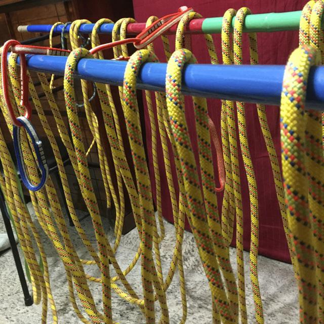 Lavare la corda da arrampicata e prevenirne l'usura - Te lo dice Oliunìd