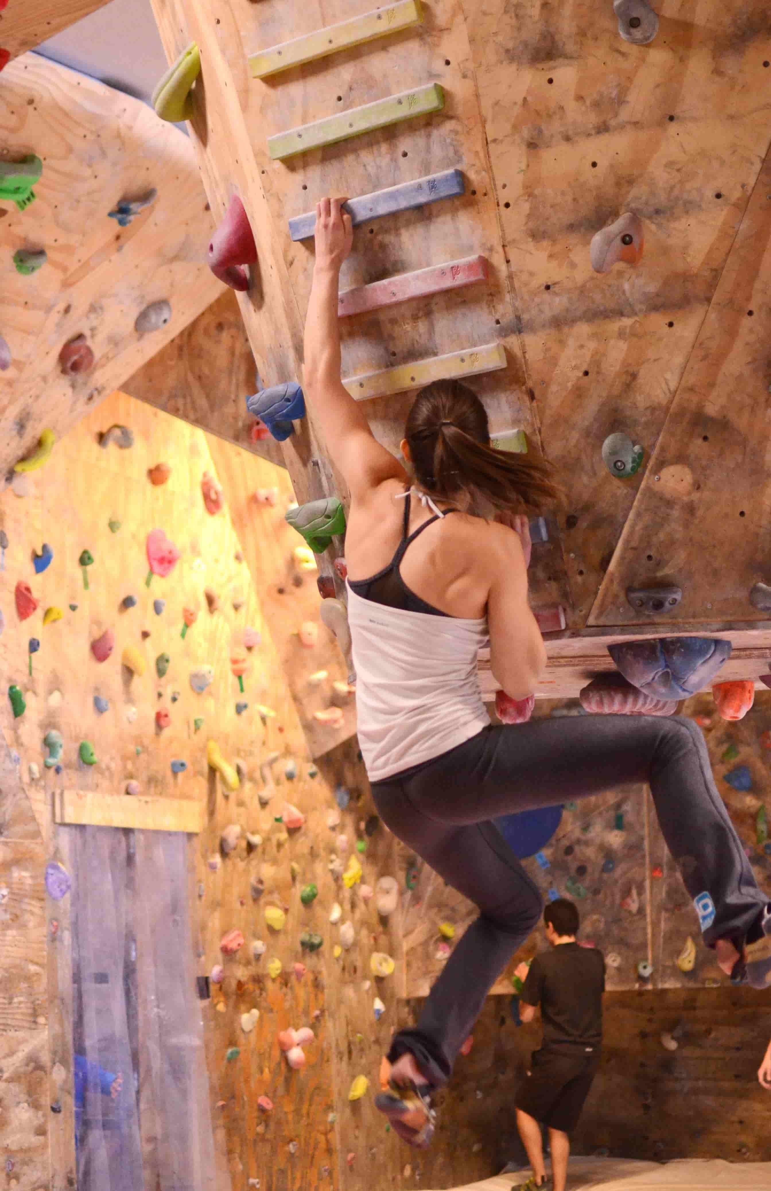 Come allenarsi correttamente al Pangüllich per l'arrampicata sportiva
