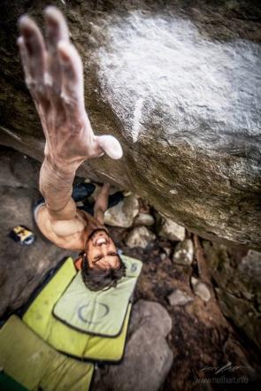 niccolo ceria Shantaram boulder 8C norvegia