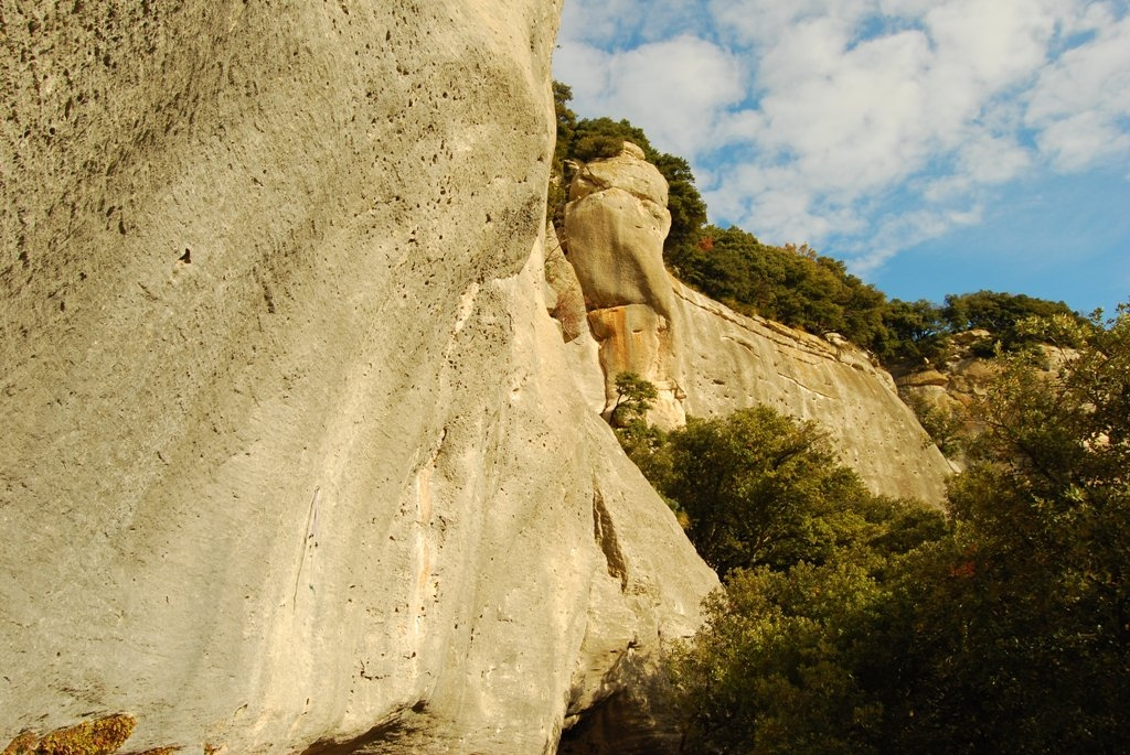 Arrampicare a Buoux - Oliunìd is crag