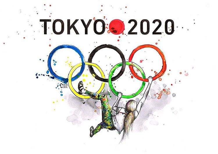 Arrampicata sportiva alle Olimpiadi 2020