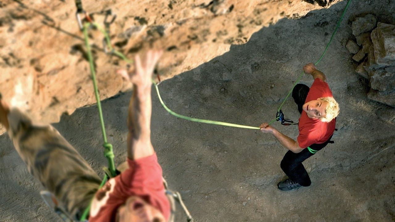 L'assicurazione dinamica quando si arrampica in falesia - Te lo dice Oliunìd