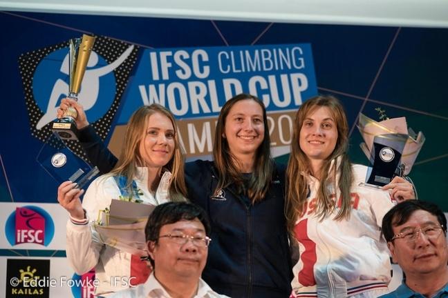 podio femminile velocita xianmen