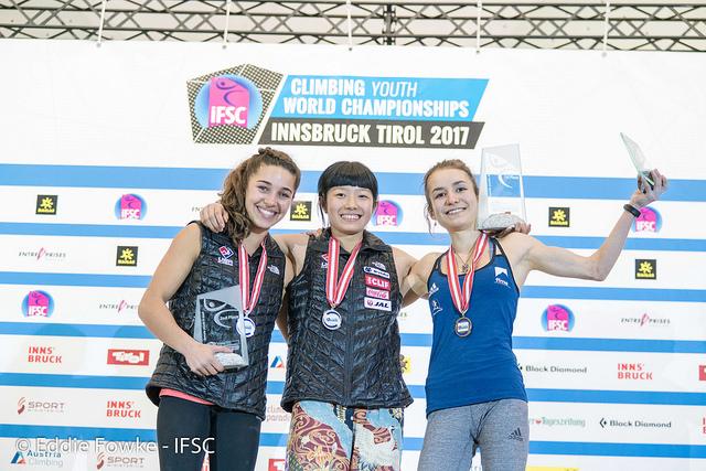 Mondiali giovanili di arrampicata: due medaglie d'oro per l'Italia – Novelle d'arrampicata