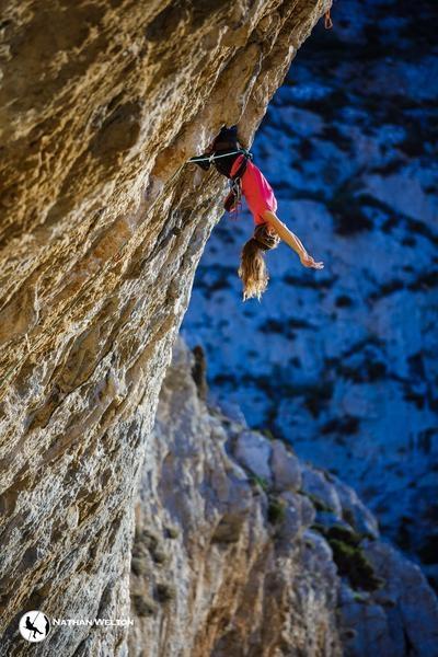 Rannveig Aamodt kalymnos arrampicata sportiva