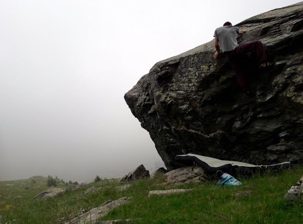 ristabilimento arrampicata