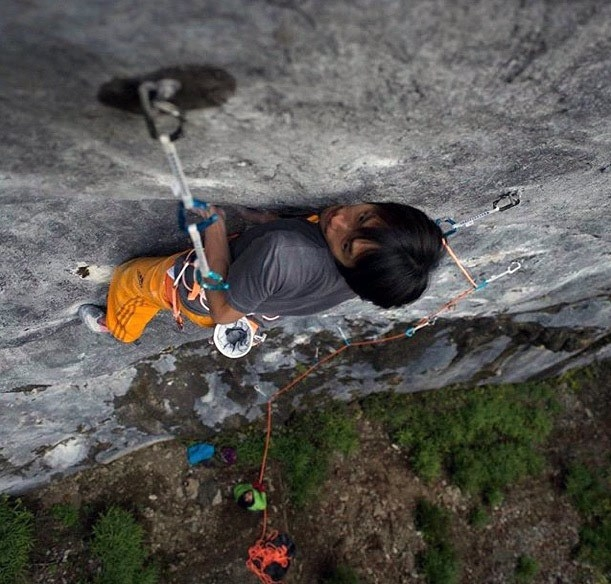 Sachi Amma Maturity 9a+ arrampicata Giappone